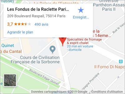 Fondus de la Raclette Raspail (14e)